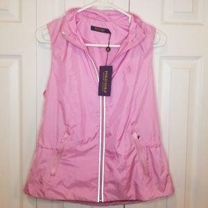 NWT Polo Golf Ralph Lauren Small Pink Zip Vest